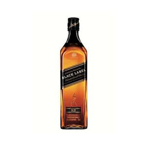 Johnnie Walker Black Label Whiskey 750ml - 1L